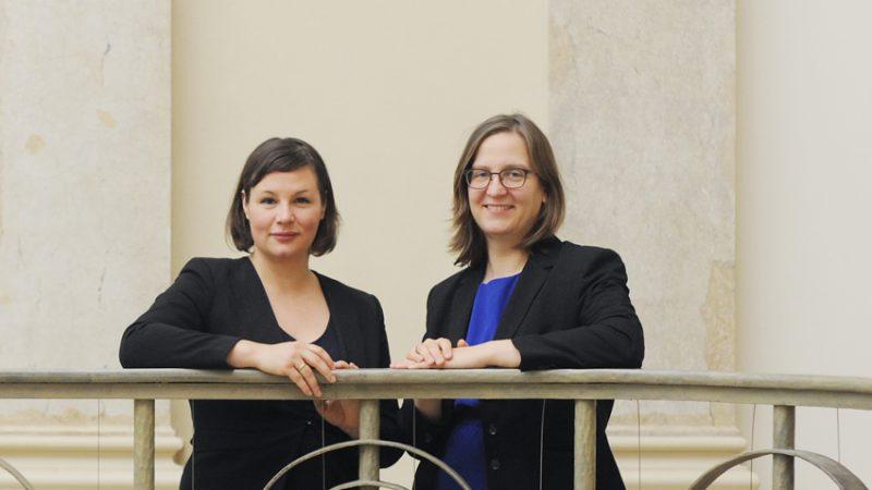 Antje Kapek und Silke Gebel | Fraktionsvorsitzende | Grüne Fraktion Berlin