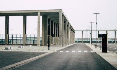 Teile des Flughafens BER