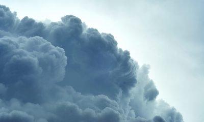 Nahaufnahme einer Wolke