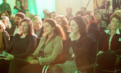 Auf dem Bild ist das Publikum des Kongresses zu sehen.