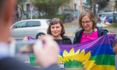 Auf dem Bild sind Antje Kapek und Silke Gebel zu sehen.