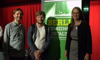 Auf dem Bild sind Stefan Ziller und Anja Schillhaneck mit einem E-Gamer zu sehen.