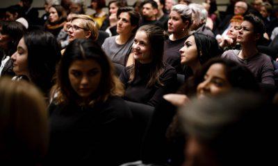 Auf dem Bild ist das Publikum des Preises zu sehen.