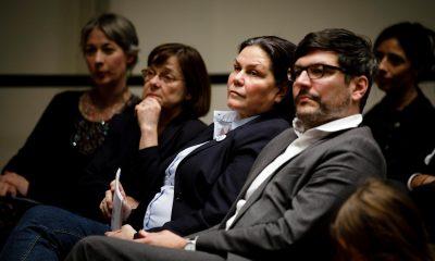 Auf dem Bild sind verschiedene Grüne Politikerinnen und Dirk Behrendt zu sehen.