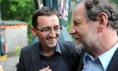 Auf dem Bild sind Stefan von Dassel und Michael Cramer zu sehen.