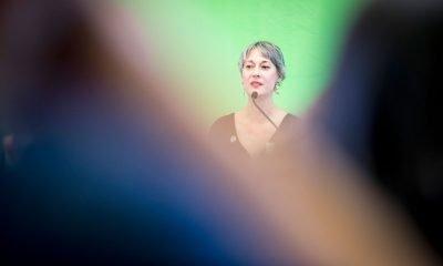 Auf dem Bild ist Susanna Kahlefeld zu sehen.