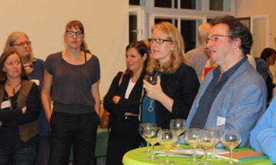 Auf dem Bild ist Lisa Paus im Publikum zu sehen.