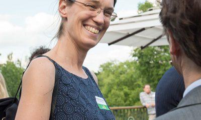 Auf dem Bild ist Anja Schillhaneck zu sehen.