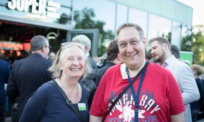 Auf dem Bild ist Christian Specht mit einer Frau zu sehen.