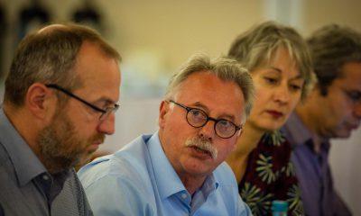 Im Bild ist Harald Moritz zu sehen, der redet.