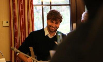 Auf dem Bild ist Stefan Gelbhaar zu sehen.