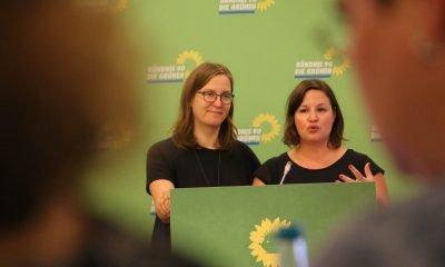 Auf dem Bild sind die beiden Fraktionsvorsitzenden zu sehen.
