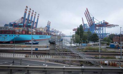 Auf dem Bild ist der Hafen in Hamburg zu sehen.