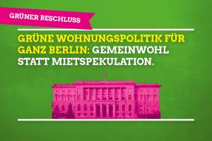 "Sharepic ""Beschluss Grüne Wohnungspolitik"""