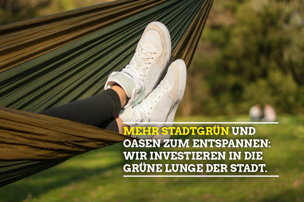 "Sharepic ""Mehr Stadtgrün"""