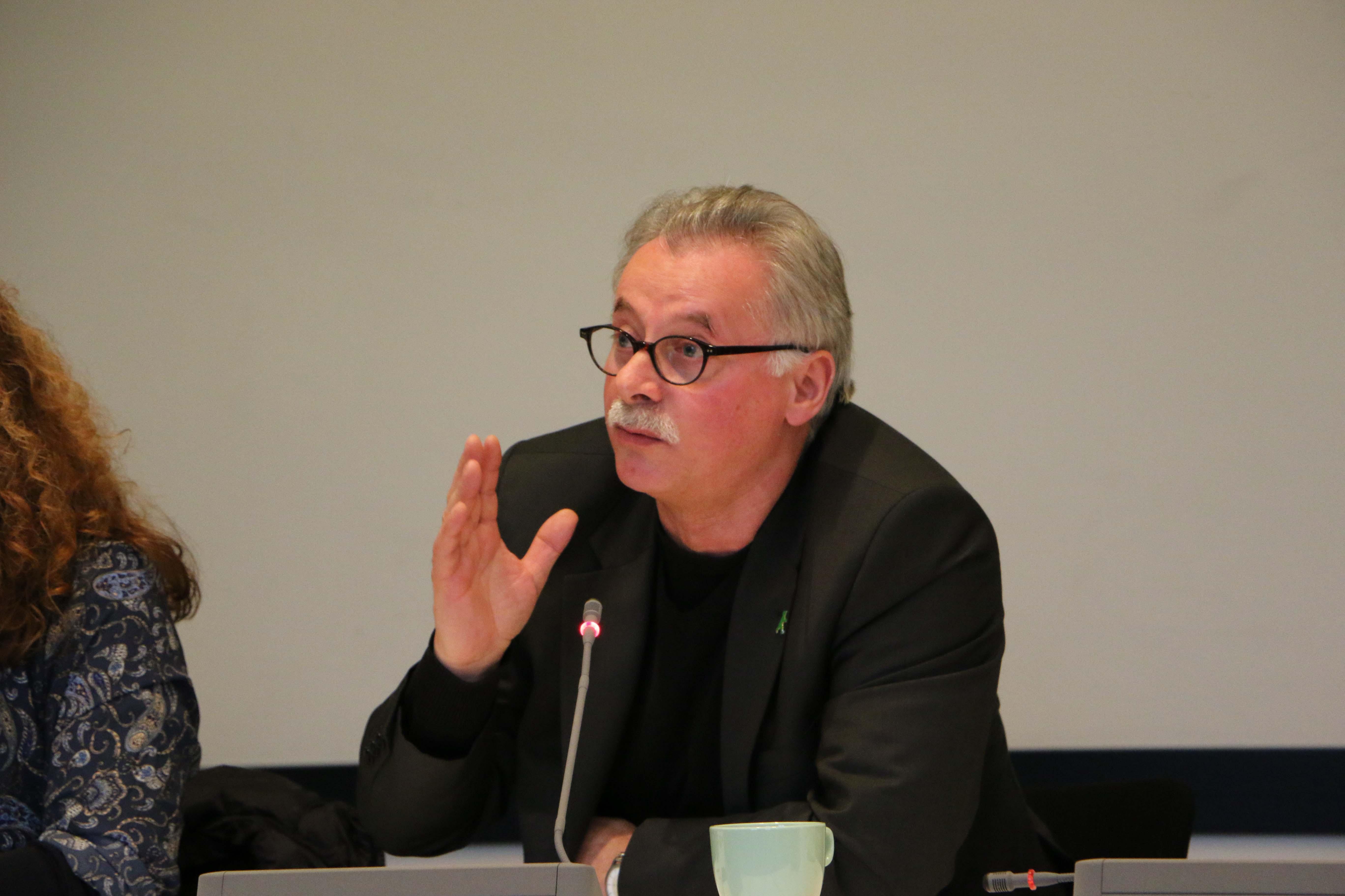 Harald Moritz tauscht sich aus und stimmt sich gemeinsam mit der Fraktion auf das Jahr 2019 ein