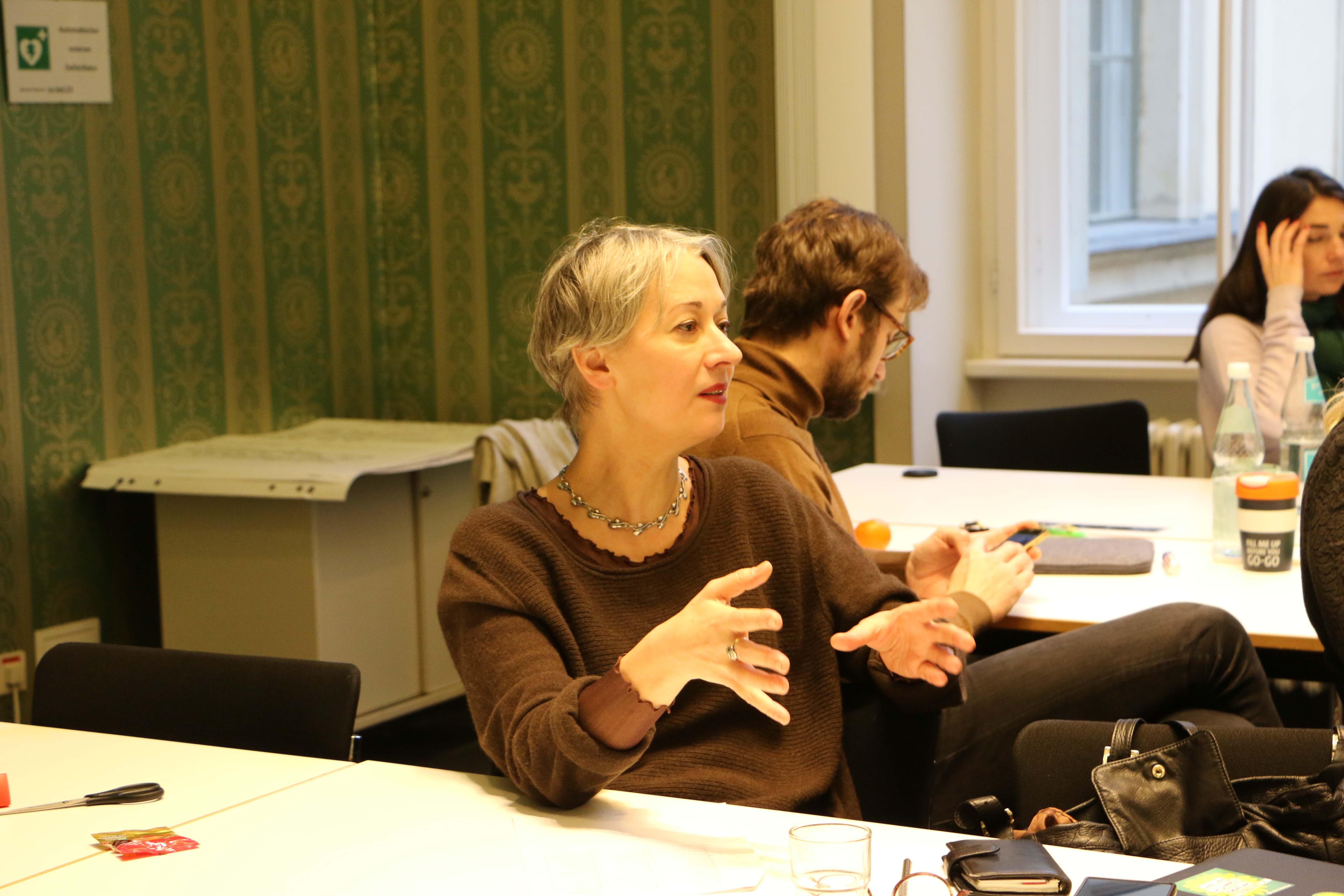 Susanna Kahlefeld tauscht sich aus und stimmt sich gemeinsam mit der Fraktion auf das Jahr 2019 ein