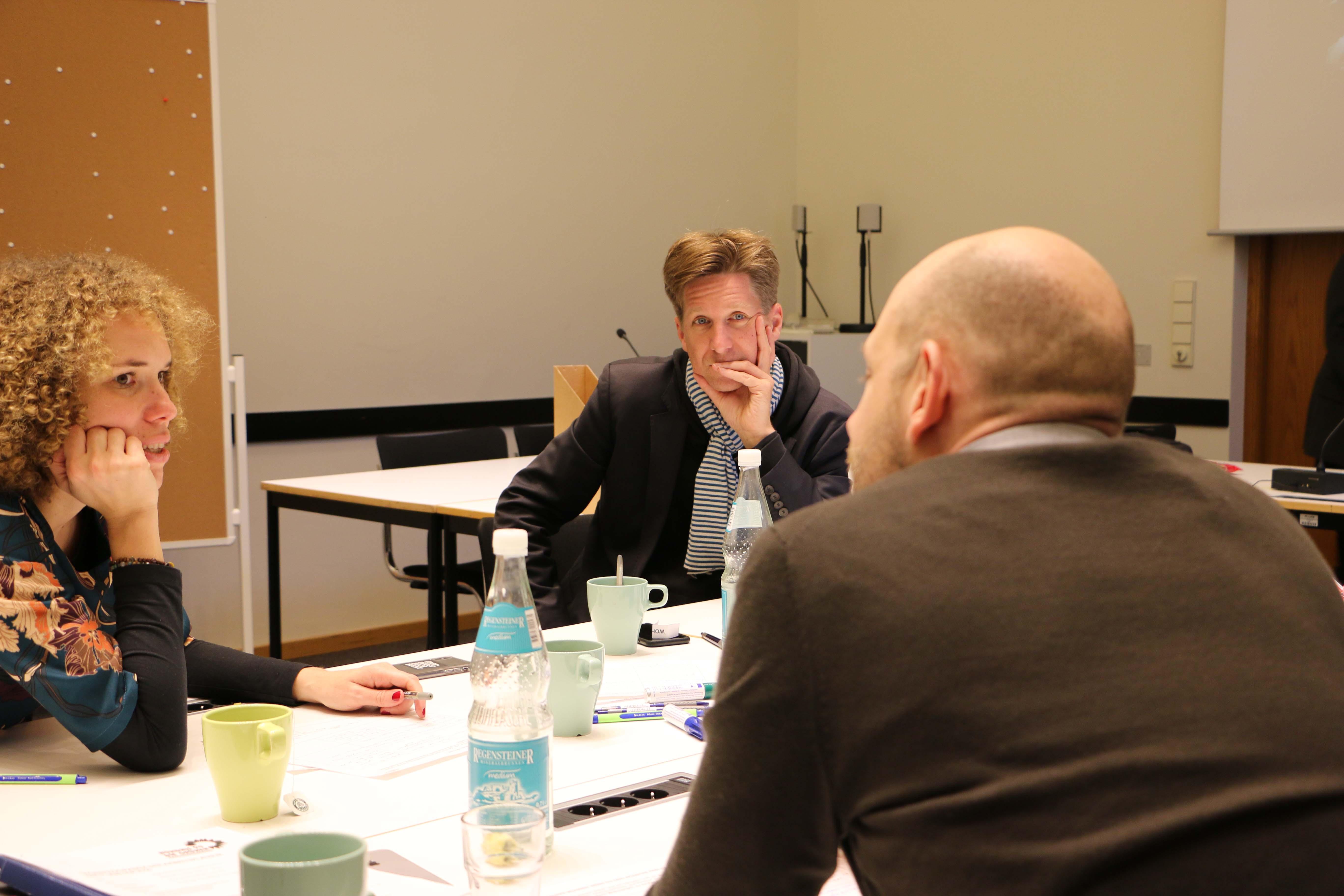 Daniel Wesener tauscht sich aus und stimmt sich gemeinsam mit der Fraktion auf das Jahr 2019 ein