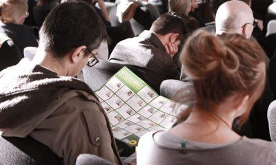 Es ist das Publikum auf dem Fachtag zur Arbeitsmarktintegration von Geflüchteten zu sehen