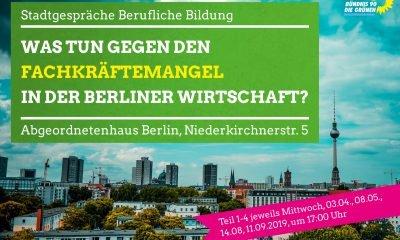 Stefanie Remlinger lädt ein zur Stadtgeprächsreihe Berufliche Bildung