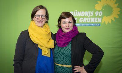 Antje Kapek auf dem Fraktionsfrühjahrsempfang 2019 im Zentrum für Kunst und Urbanistik