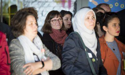 FraktionsmitarbeiterInnen auf dem Fraktionsfrühjahrsempfang 2019 im Zentrum für Kunst und Urbanistik