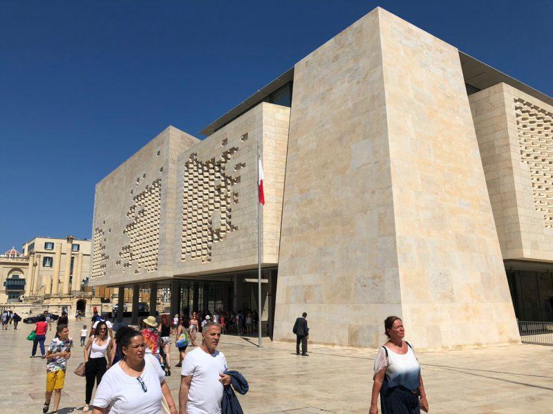 Es ist eine Sehenswürdigkeit auf der Insel Malta zu sehen