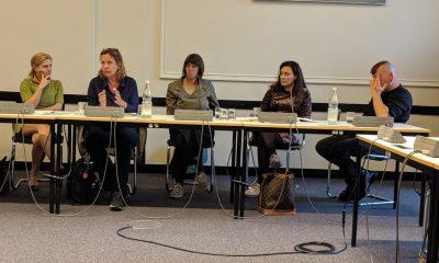 Catherina Pieroth spricht beim Fachgespräch über Gutes Essen im gesunden Krankenhaus