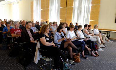 Es ist das Publikum des Fachtages zur Zukunft der Wohnungslosenhilfe zu sehen