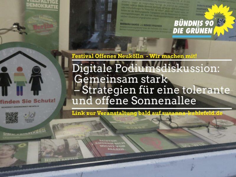 Online Podiumsdiskussion ONK SGNK 2020