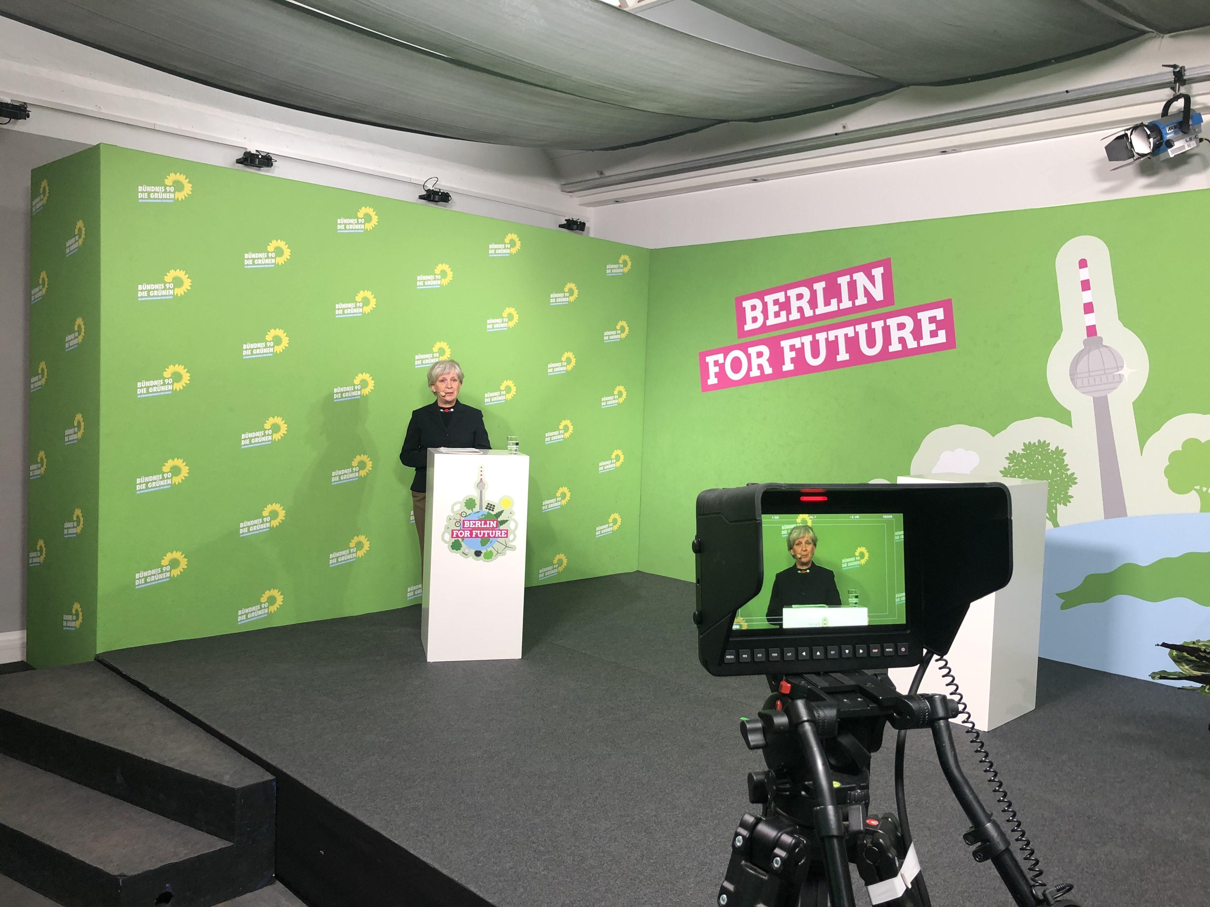 Klimakonferenz Berlin for Future: Barbara Unmüßig, Vorstand bei der Boell-Stiftung