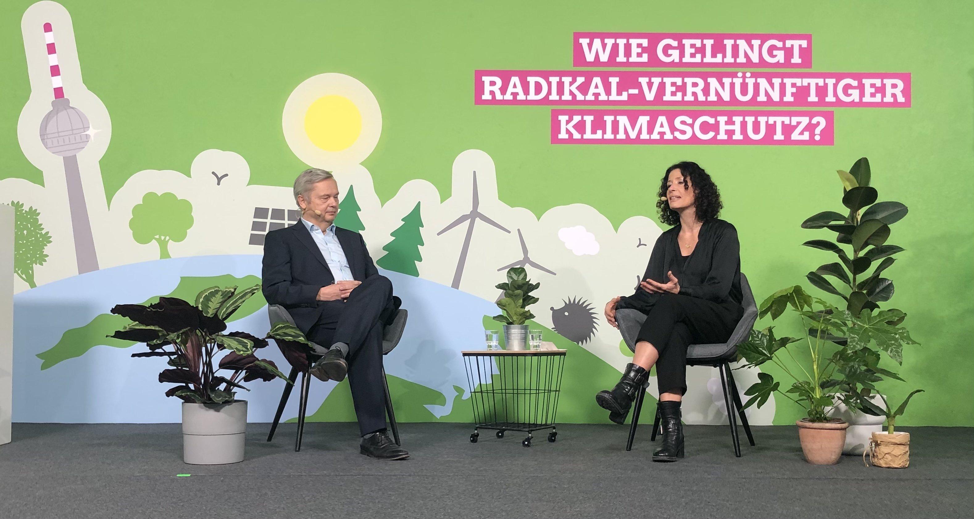 Klimakonferenz Berlin for Future: Bettina Jarasch meets Prof. Dr. Christian Thomsen