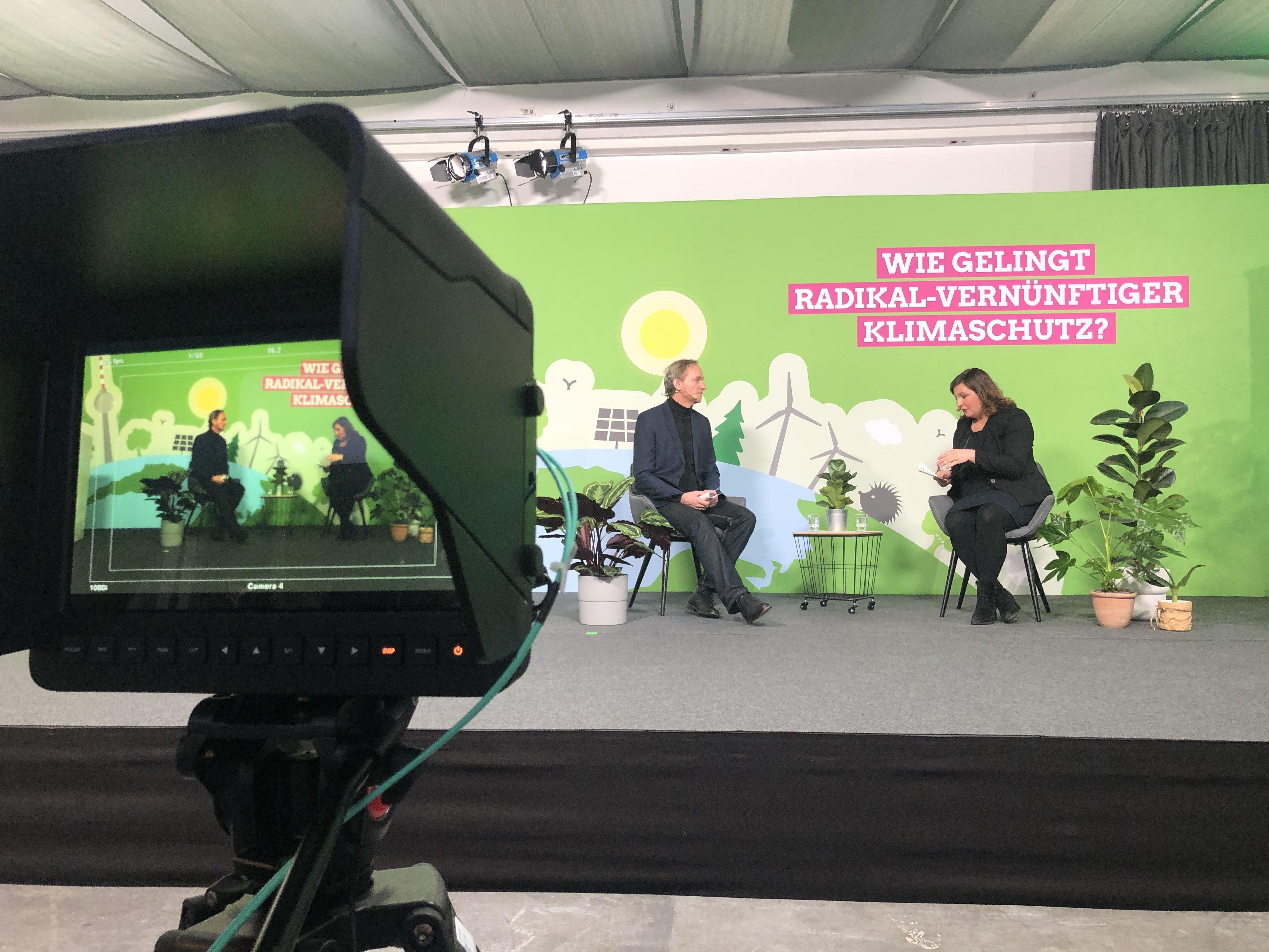 Klimakonferenz Berlin for Future: Antje Kapek interviewt Prof. Dr. Bernd Hirschl vom Institut für ökologische Wirtschaftsforschung