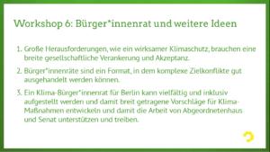 Klimakonferenz Berlin for Future