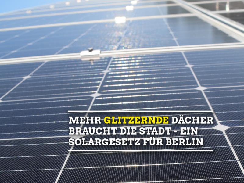 Solargesetz.