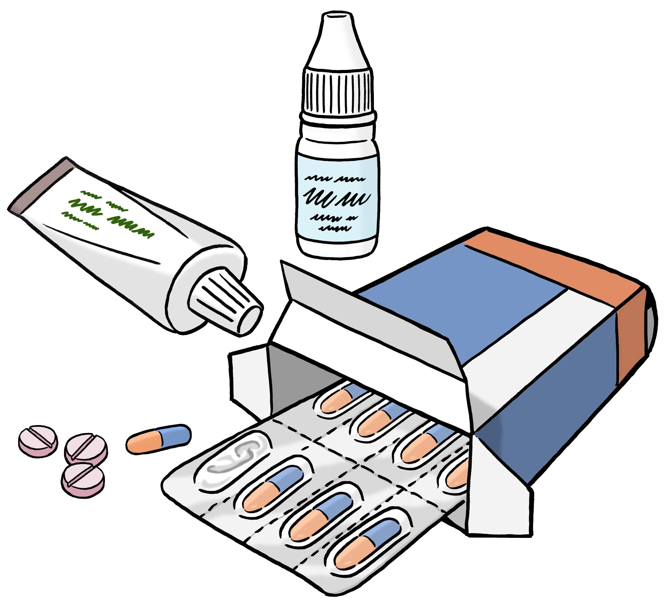Grafik Medikamente