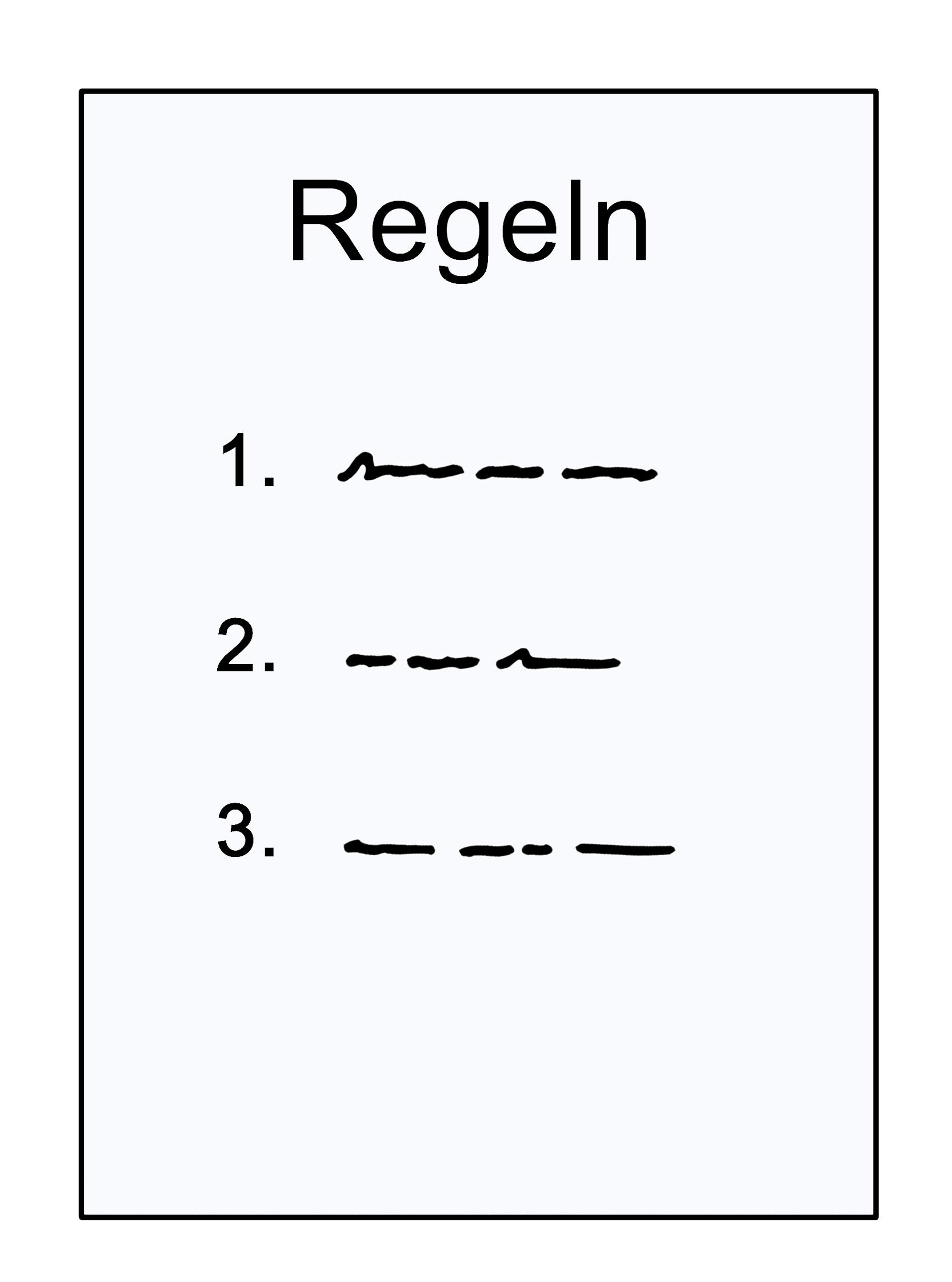 Grafik Regeln