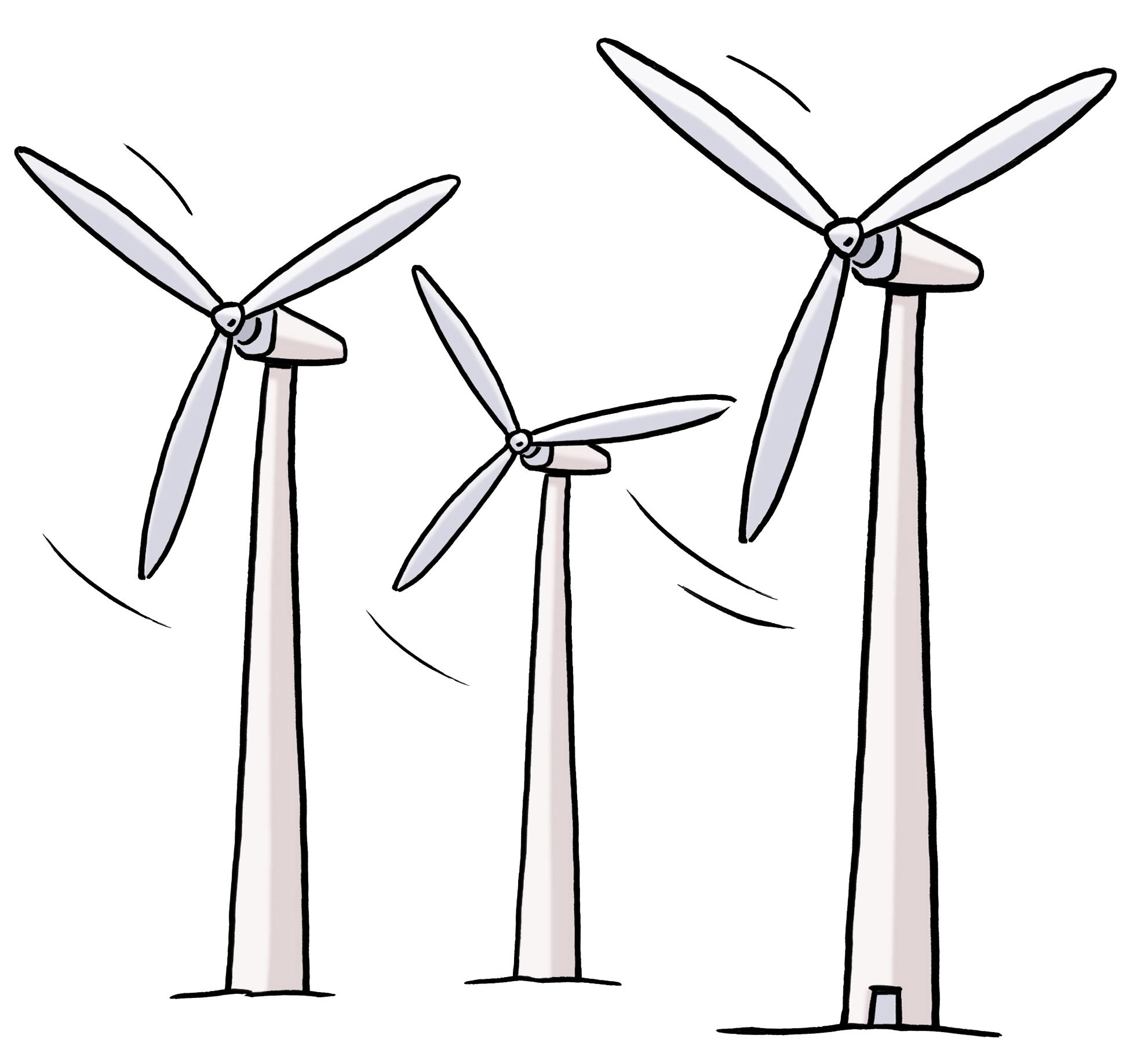 Grafik Windenergie